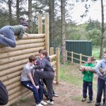 Crawfordsburn adventurous activities are designed to get you using your body in a different way. Whether its crawling through our caving system, taking on the challenge course or testing your balance on the Slack Line.